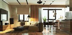 Дизайн интерьера 2-х комнатной квартиры, ЖК «Тихвин», г. Екатеринбург