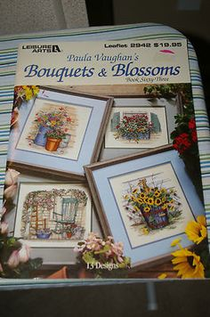 I have this booklet, should do some cross stitching again. Love Paula Vaughn's designs.