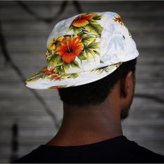 Hawaiian 5-panel all over/brim label version. Also available with navy bill and front label - See both variations and the rest of this pack at thequietlife.com | Photo and shout out to @reedspsce in NYC | #qlsummer15 #thequietlife #quietlife