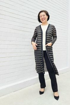The Keeley pattern from Rebecca Page is the perfect button up cardigan sewing pattern to get comfy and cozy in any weather! Sewing Magazines, Jacket Pattern, Swimsuit Cover, Button Up, Duster Coat, Sewing Patterns, Cover Up, Bomber Jacket, Swimsuits