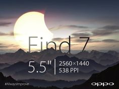 Oppo Find 7 will have a 5.5-inch screen with the feel of a 5-inch - it's official