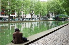 L'Amoureuse du Canal Saint-Martin (Paris)