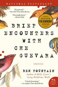 """""""It took eighteen years for Ben Fountain to publish this PEN/Hemingway Award-winning collection of short stories. In that time, he made more than 30 trips to Haiti (where three of his stories take place), and also set himself to a disciplined creative process that honed a singular talent we won't soon forget. Do me a favor: Grab a copy and one of our chairs and read the first story (or as much of it as you've time to). Then see if you can put it back."""" - Tristan Hickey"""