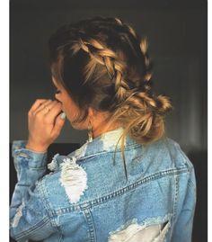 Braided bun. Flat Twist Hairstyles, Braided Hairstyles, Dreadlocks, Braids, Twisted Hairstyles, Nice Braids, Dreads, Cornrows, Pigtail Hairstyles