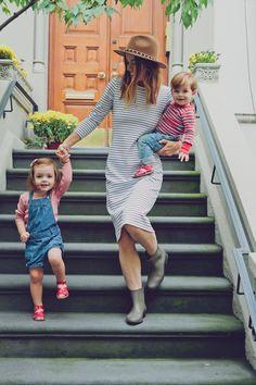 Não há nada mais estiloso do que amor entre pais e filhos <3