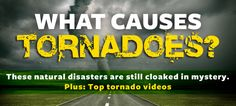 The U.S. has more tornadoes than anywhere else on Earth, but their sudden twists and turns still make them mysterious and mesmerizing. #science #nature #tornado
