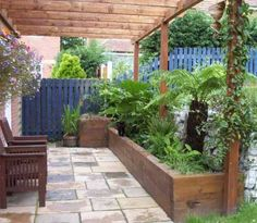 What I like here is the patio/garden. Enjoying your garden and the outside.