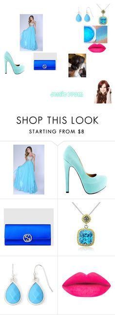 """Jessie Prom"" by catherine-baldwin ❤ liked on Polyvore featuring Nina Canacci, TaylorSays, Gucci, Glitzy Rocks, Liz Claiborne, women's clothing, women's fashion, women, female and woman"