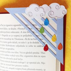 Visit the webpage to read more about Discovering Origami Felt Bookmark, Bookmark Craft, Origami Bookmark, Cute Bookmarks, Corner Bookmarks, Paper Crafts Origami, Diy Paper, Book Markers, Scrapbook