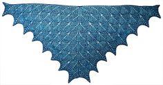 Nancy Marchant's Under Dutch Skies shawl - color combo