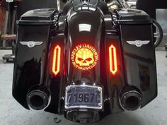 Harley Davidson/Custom Bagger Lights! I love anything Willy G!- repined by http://www.vikingbags.com/