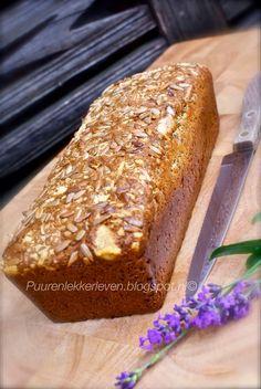 Luchtig Courgette Brood - Puur & Lekker leven volgens Mandy