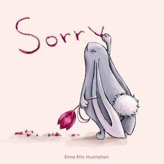 Elina Ellis Illustration: Rabbit says sorry