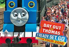 Day Out with Thomas 2016 U.S. & Canada! Ready Set Go Tour info added as it becomes available… Tickets on sale for events in #‎CT #MD #‎AL #‎FL #‎NC #‎MI #‎TX #AL #‎ON http://www.thomastrainrides.com/day-out-with-thomas/calendar.html
