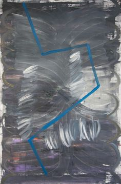 Stella Corkery: Untitled 85; oil on readymade canvas and stretcher, 610mm x 910mm