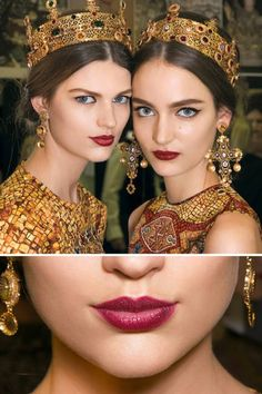 Dolce & Gabbana red lipstick. #beauty #lips