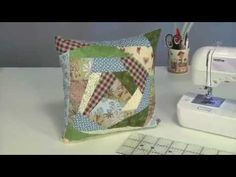 Máquina de Costura Brother SQ9000 - PROJETO: Almofada crazy - YouTube