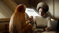 Ruth Wilson in His Dark Materials Jane Eyre, Luther, Mrs Coulter, Ruth Wilson, His Dark Materials, Cartoon Tv Shows, The Hobbit, Monkey, Theater