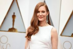 Hair, Makeup & Fashion Takeaways From The Redheads at the 2017 Oscars Darby Stanchfield, Red Carpet Looks, Oscars, My Eyes, Redheads, Red Hair, Hair Makeup, Actresses, Pure Products