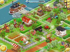 Når leg og læring går hånd i hånd. Spillet Hay-Day hvor man skal bygge en gård og dyrke afgrøder som skal sælges, så man kan bygge til gården. (Da jeg var dreng hed det SimCity). Så er der virtuelle gulerødder og høns - Anne Skare.... :-)