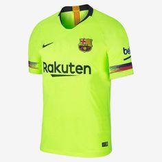 199aeb3ed29 Barcelona Away Green NEW Nike 2018-2019 SOCCER FOOTBALL JERSEY BNWT.  Football ShirtsMen s ...