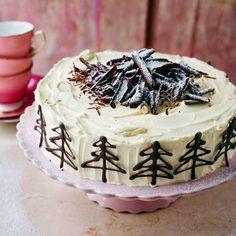 Baked white chocolate cheesecake