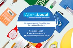 Get unique Promotional Products Brisbane at affordable rates from Workslocal. They offer the best and creative products to their clients with the company logo and short message on them that you want to convey to your audience. Workslocal offers you a large range of promotional products like clothes, accessories, brands, gifts and more. For complete details, you can check their website.