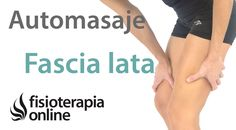 Auto-masaje para la tendinitis del tensor de la fascia lata. Fascia Lata, Tendinitis, Bunion, Trigger Points, Body Care, Stretching, Fitbit, Relax, Yoga