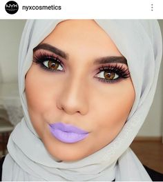 """Bold Lavender Lips!  #NYX #LiquidSuede in color """"Sway"""""""