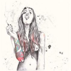 I don't like smoking, I don't like tattoos, but I like this.