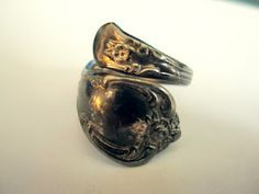 Spoon ring tutorial - going to try this one day......