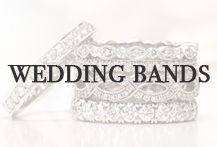 Stop by Oster Jewelers for a wide array of diamond and jeweled wedding bands! osterjewelers.com #MyBridalStyle #MyDiamondStyle