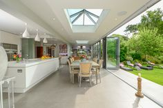 Extending a house: the ultimate guide for building a house extension Orangery Extension Kitchen, Kitchen Orangery, Kitchen Diner Extension, Open Plan Kitchen Dining Living, Open Plan Kitchen Diner, Open Plan Living, House Extension Plans, House Extension Design, House Design