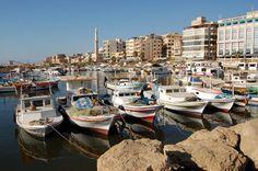 Tartus Syria -Fishing Marina