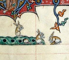Gorleston Psalter, England 14th century (British Library, Add 49622, fol. 107v).