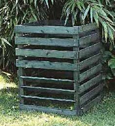Faire son compost pour le potager en carr s compost - Fabriquer un petit composteur ...