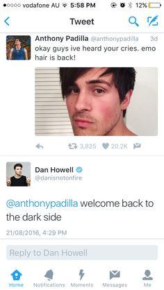 I love Dan's tweets XD