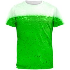 St. Patricks Day Green Beer All Over Adult T-Shirt