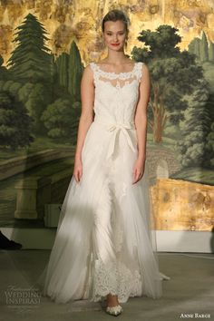 anne barge wedding dresses spring 2014 marguarite lace sabrina neckline gown