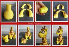 [Tuto Fimo] Girafe