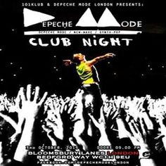 Depeche Mode Clubnight at Bloomsbury Lanes, Basement of Tavistock Hotel, Bedford Way, London, WC1H 9EU, UK on Oct 03, 2015 to Oct 04, 2015 at 9:00pm to 3:00am On 3rd of October 101Klub and Depeche Mode London continues the party series... at Bloomsbury Lanes. Depeche Mode's early classics to Delta Machine songs.. sounds from the 80's alternative scene, EBM / Industrial , new-wave, synthpop, etc. Category: Nightlife Price: Advance £5
