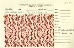 Squiggle stripe print on cotton. France. Sept. 9, 1896-97.