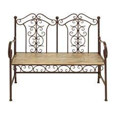 I pinned this Kidd Garden Bench from the Woodland Imports event at Joss and Main!