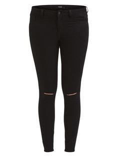 ca9d0dc95ff Vila Busted Knee Skinny Jeans Black Size S (UK 10) Box46 09 E  fashion   clothing  shoes  accessories  womensclothing  jeans (ebay link)