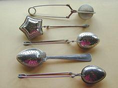 Vintage Tea Strainer Collection