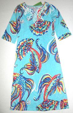 LILLY PULITZER Small 4 5 Girls Shorely Blue MERIDA She Got Sole Maxi Dress NWT S #LillyPulitzer #DressyEverydayHolidayWedding