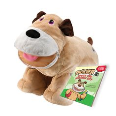 Digger the dog plush toy from Stuffies image 1