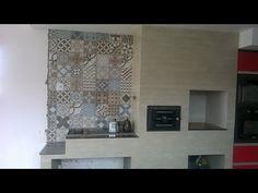 FOGÃO FORNO E CHURRASQUEIRA 3X1.A realização de um sonho - YouTube Decor, Kitchen Marble Top, Home Decor, Marble, Fireplace, Marble Top
