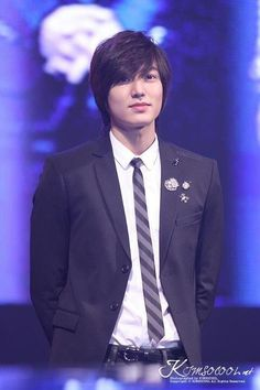 Lee Min Ho. The feathered fringe