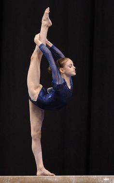 I wish I would have kept up with gymnastics and cheer :(